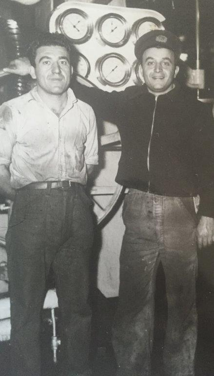 ASR founder Nick Gianopulos (right) with his younger brother.