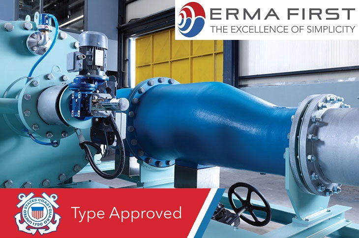 ERMA FIRST: Ballast Water Treatment System